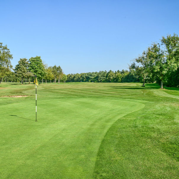 Middlesbrough Golf Club, Teesside, North Yorkshire - 18th Green